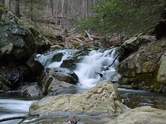 little cascade on Rhinehart Brook