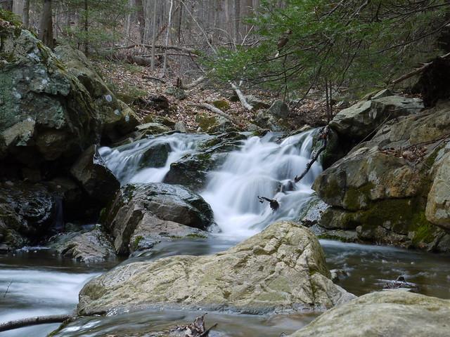 little cascade on Rhinehart Brook