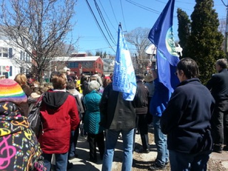 Port Jefferson, NY Peace March 3/30/13