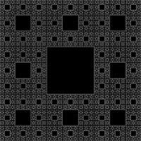 Sierpinski Carpet (4) | Iteration 4 of the Sierpinski ...