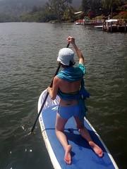 Kneeling Paddle Boarding