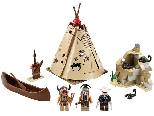 The Lone Ranger 79107 Comanche Camp 79107