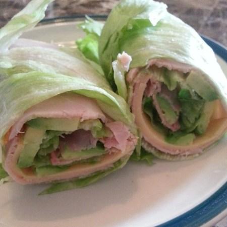 Low-carb lettuce wraps :)
