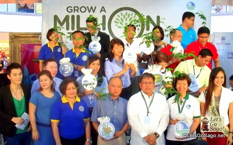 Different SM Affiliates pledge their share on the road to 1 Million Trees!