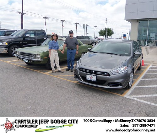 Dodge City of McKinney would like to say Congratulations to Kenneth Ferbert on the 2013 Dodge Dart by Dodge City McKinney Texas