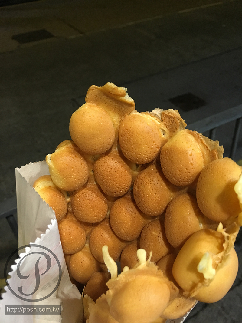 全港最棒的零食小吃~【利強記北角雞蛋仔】銅板小吃