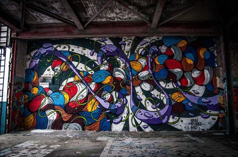 Teufelsberg Berlin Graffiti-17