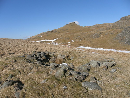 Cairn on Bleaberry Haws and High Pike Haws