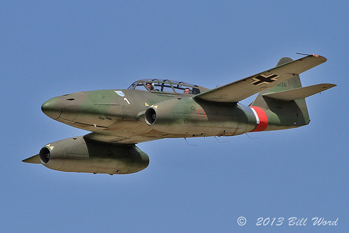 Messerschmitt  Me262 B-1C Swallow N262AZ Collins Foundation c