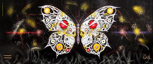 Butterfly Skulls