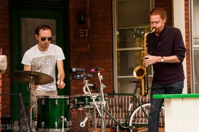Saxsyndrums @ 4in1 May Music Sessions