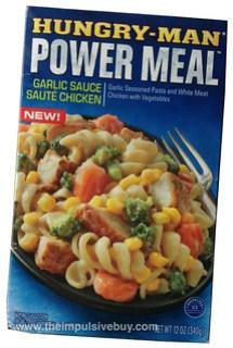 Hungry-Man Garlic Sauce Saute Chicken Power Meal