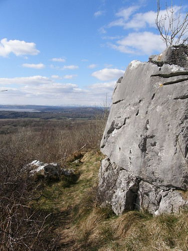 View from near the summit of Warton Crag