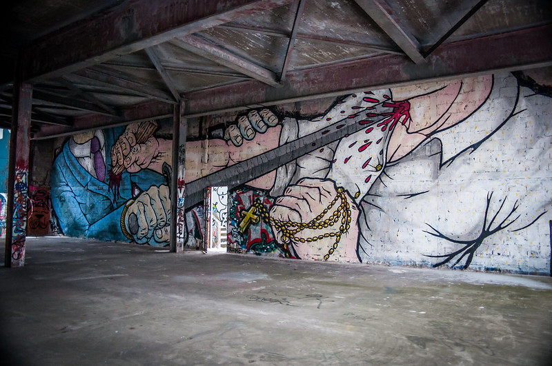 Teufelsberg Berlin Graffiti-3