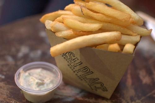 Chips & tartar sauce