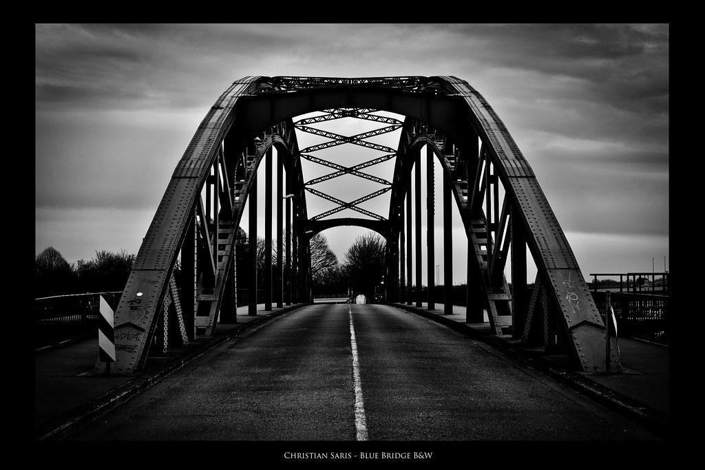Blue Bridge B&W