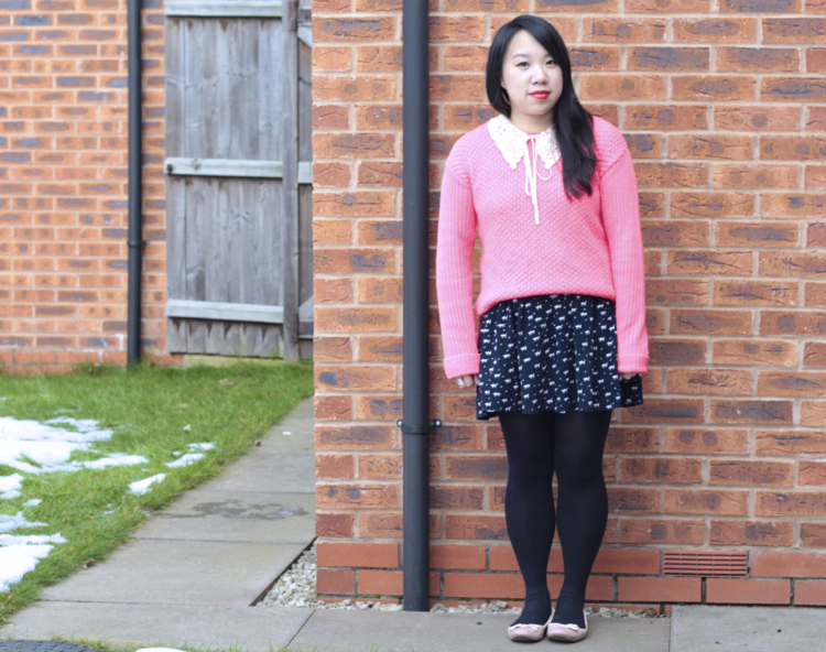 pink jumper outfit 2