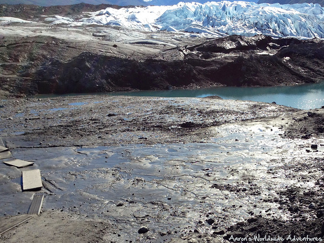 Mud Before Matanuska Glacier