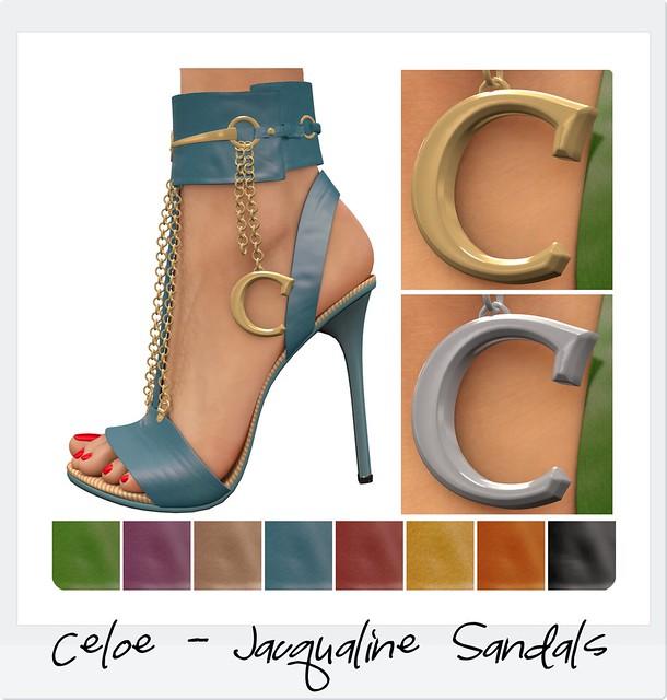 Celoe Jacqualine Sandals