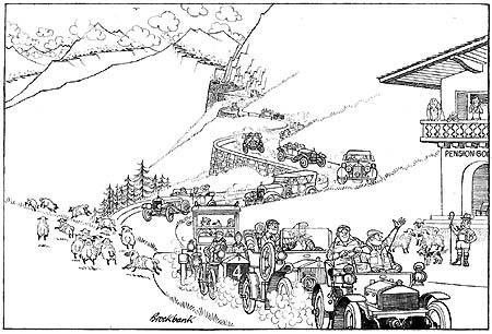 BENTLEY SPOTTING: Alpine Trials 1913