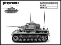 Panzerbefehlswagen III Ausf K de Panzerbricks