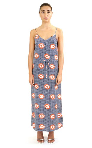 Brunch at Sea Circus - Navy Orange