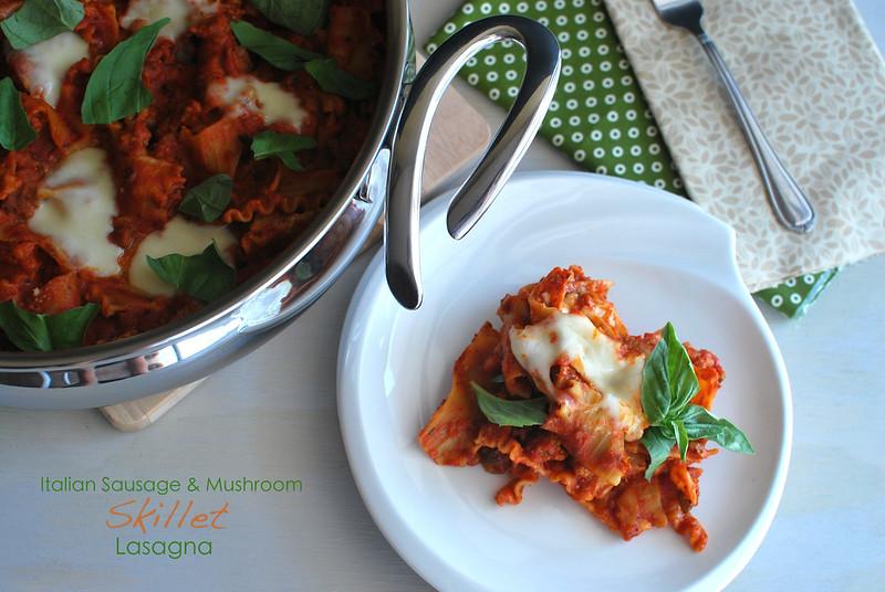 Italian Sausage & Skillet Lasagna