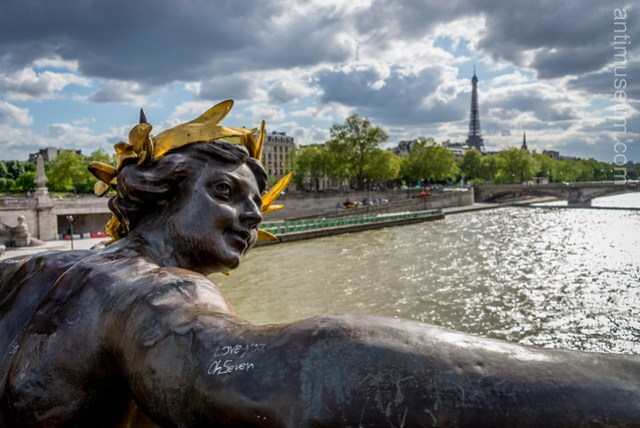 Alexander III /Alexandre III and the Eiffel tower