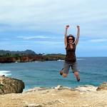 Sandstone Cliff Jump