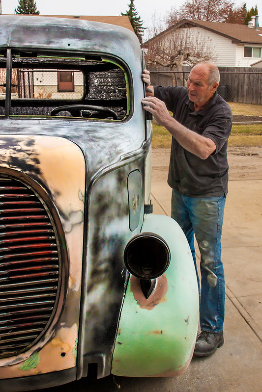 Dad And His 38 Ford