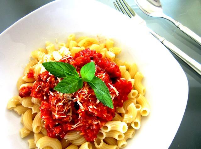 Homecooked pasta 1