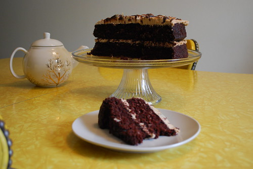 Mocha Almond Fudge Cake