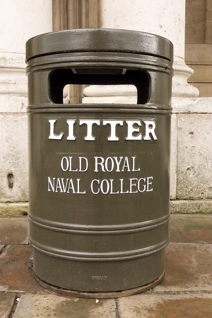 Royal Naval litter