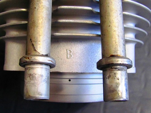 "Cylinder Group Mark ""B"" on Right Side"