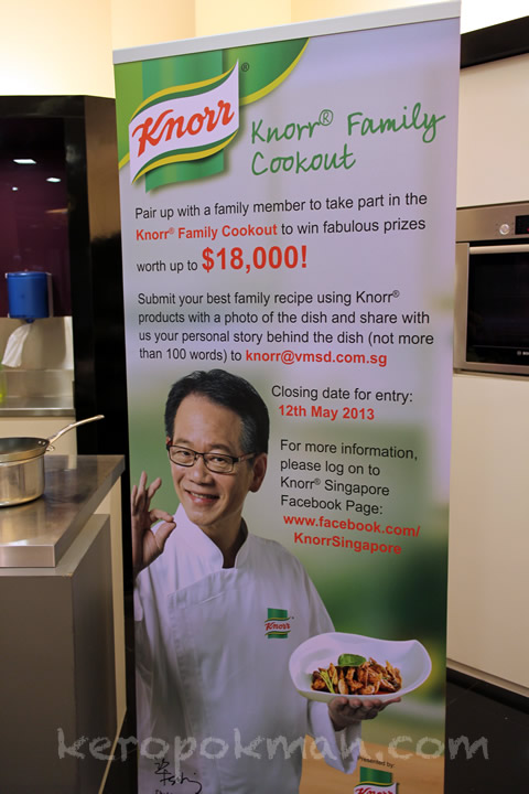 Knorr Cookout by Chef Daniel Koh