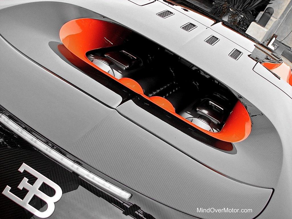 Bugatti Veyron Super Sport at Pebble Beach