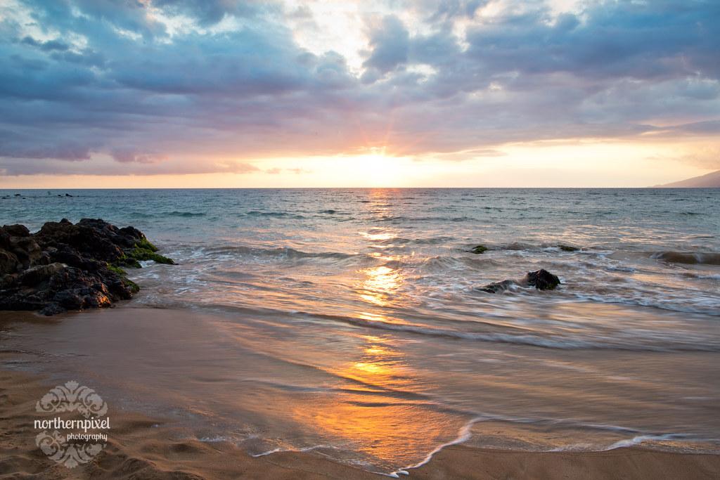 Mokapu Beach Sunset