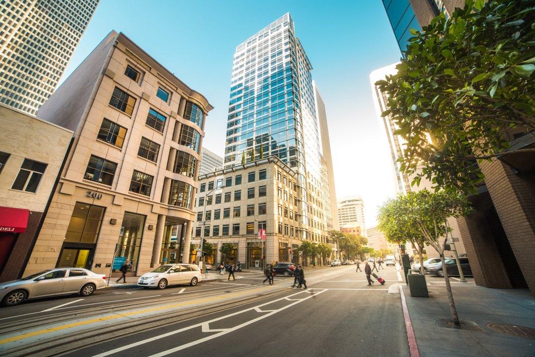 Imagen gratis de una calle de San Francisco