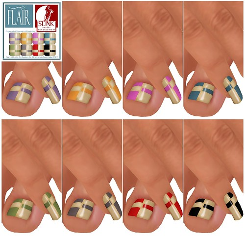 Flair - Nails Set 74