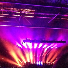 Postal service concert with @kamccart0927 tonight.  Baby rocked out.