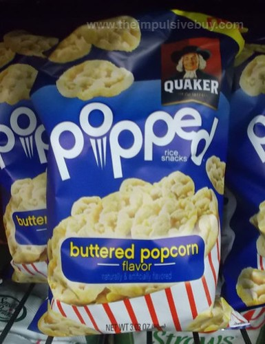 Quaker Popped Buttered Popcorn