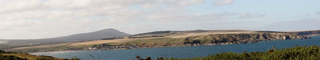 2012 10 12 Portsoy to Cullen Panorama