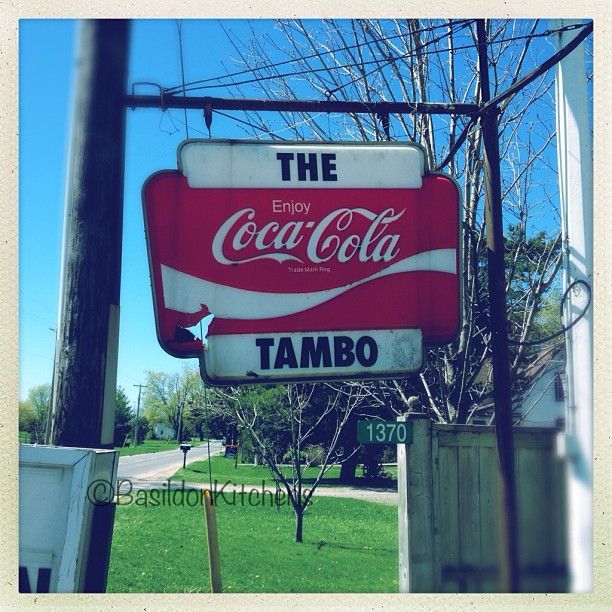 May 5 - coke {this is near Sandbanks Provincial Park} It has seen better days. #photoaday #sandbanks #princeedwardcounty @missyfowler47