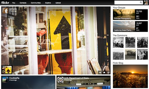 The new Flickr
