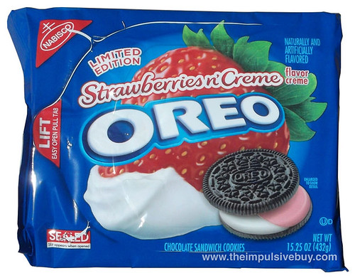 Limited Edition Strawberries n' Creme Oreo
