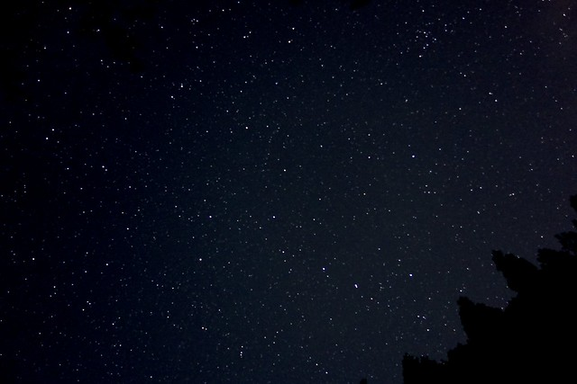 The Big Dipper ISO 3200