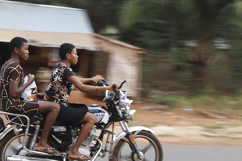 Female Motor-cyclers in Iheaka Enugu State Nigeria by Jujufilms