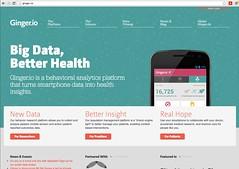 Health Datapalooza: Ginger.io