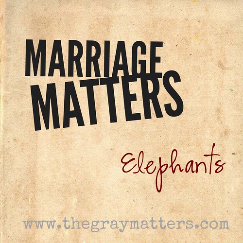 Marriage Matters- Elephants