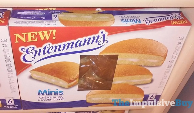 Entenmann's Minis Cre?me Filled Golden Cakes